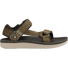 Teva M's Original Universal Premier Leather Sandals Olive